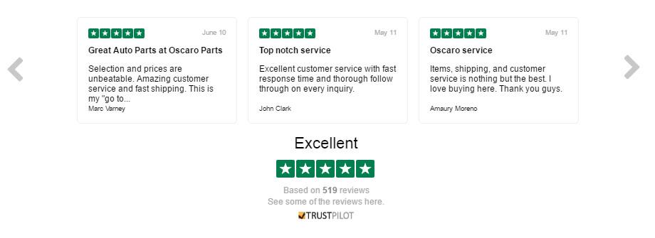 Oscaro Customer Reviews - TrustPilot
