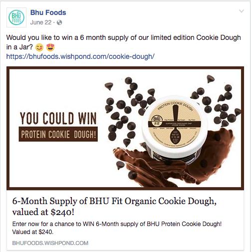 social media strategy example