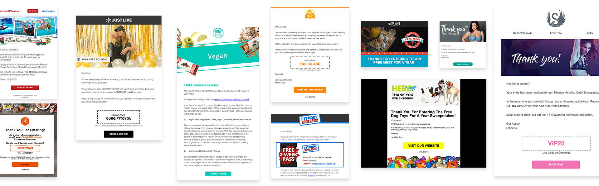 wishpond email templates