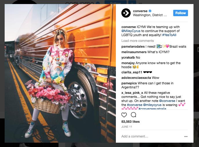 instagram brands