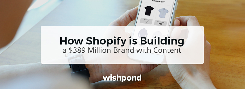 How Shopify is Building a $389 Million Brand with Content