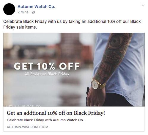 black friday marketing campaign