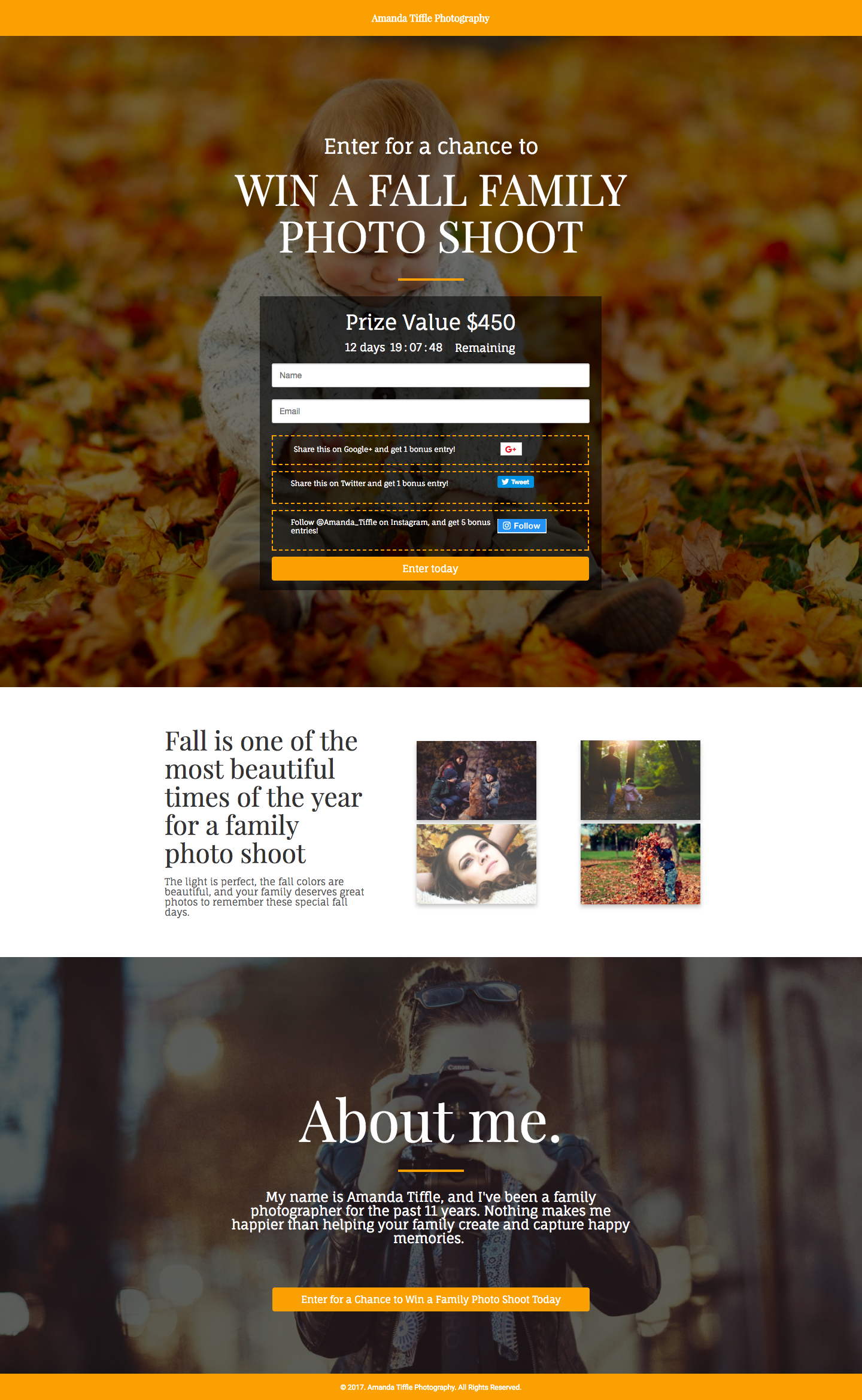 fall marketing campaign