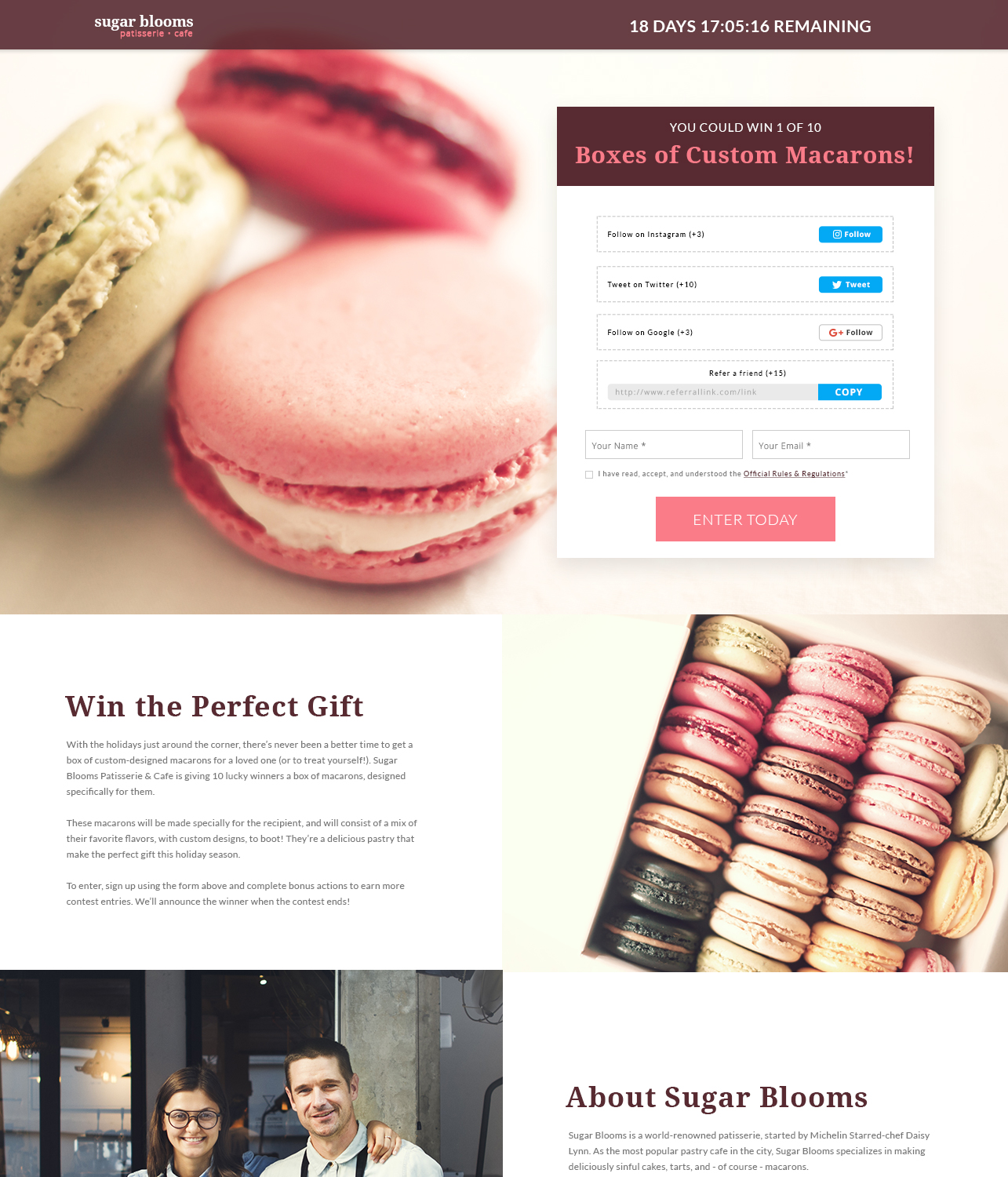 wishpond campaign example