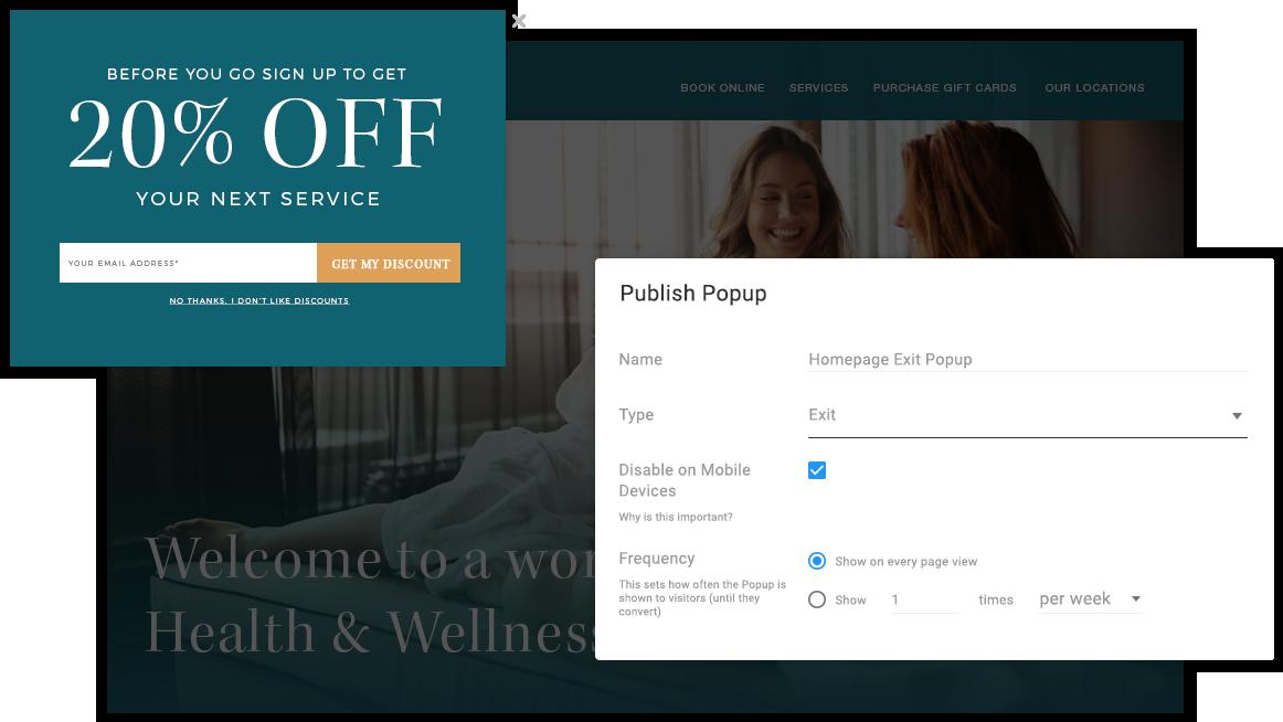 Easy Website Popup Tool: Create Beautiful Website Popups in