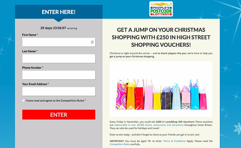 Pchonline sweepstakes
