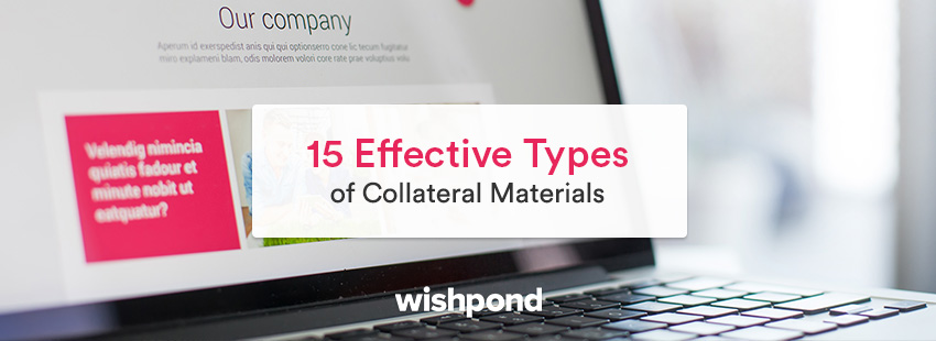 15 Effective Types of Collateral Materials