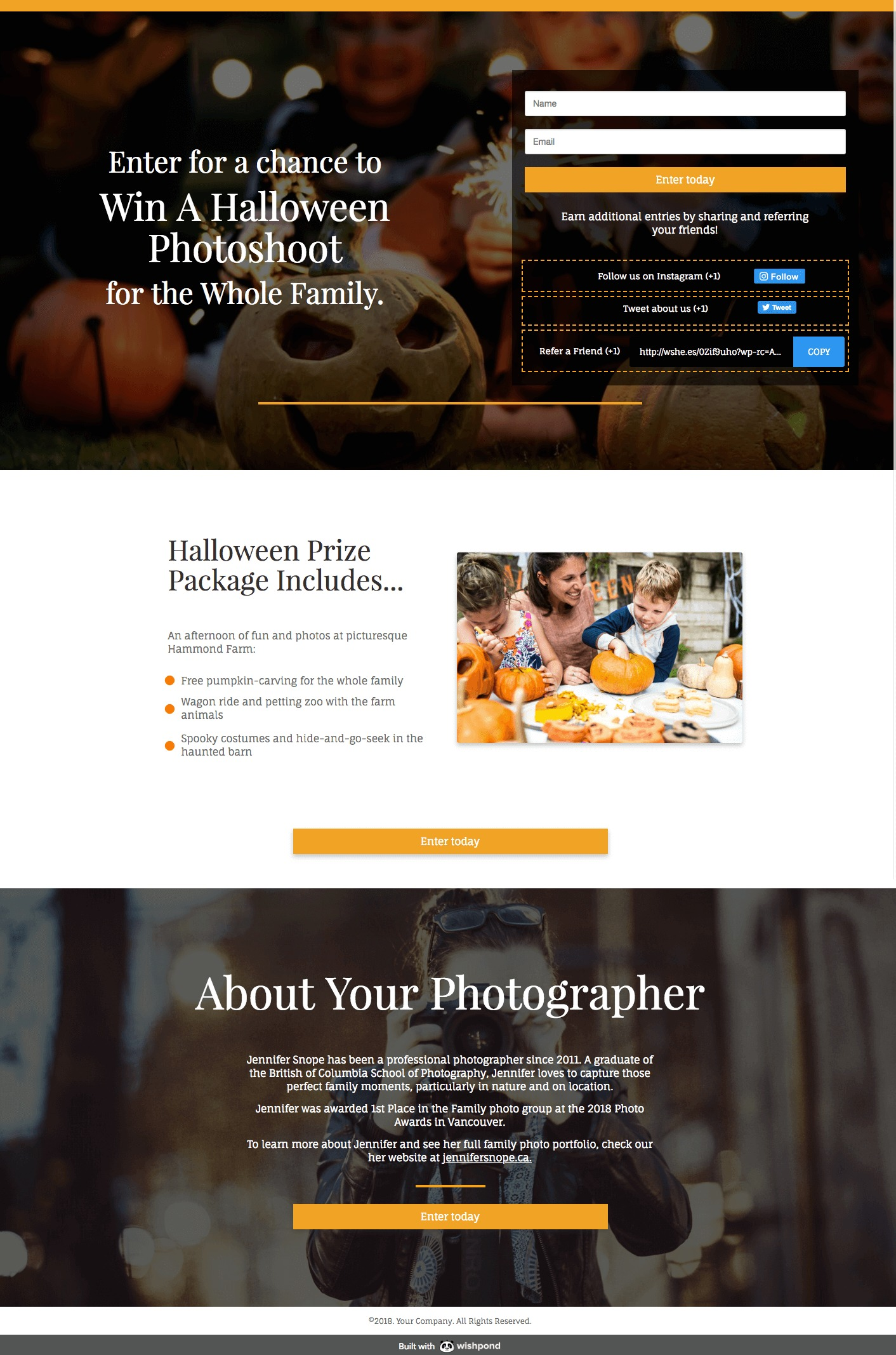 halloween contest strategy