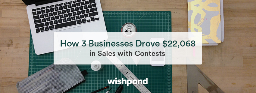 How 3 Businesses Drove $22,068 in Sales With Contests