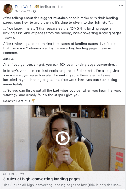 facebook post best practices