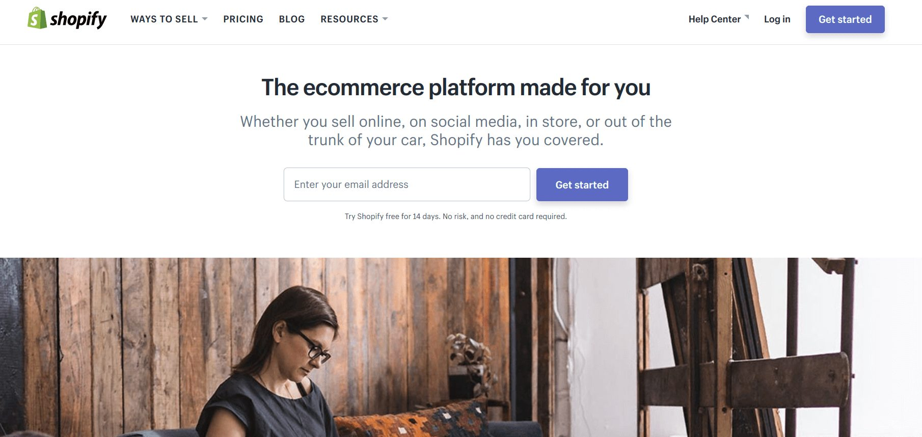 Make Your First Ecommerce Sale: Shopify website