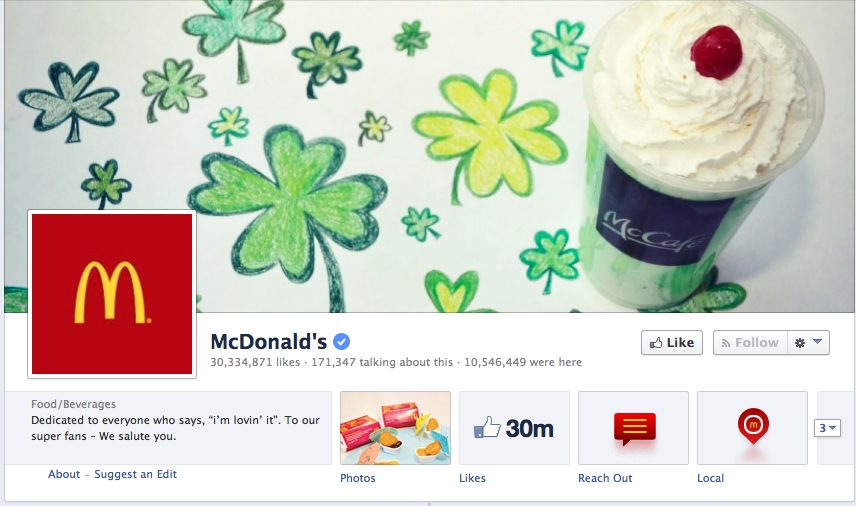 St. Patricks Day Social Media Facebook Header