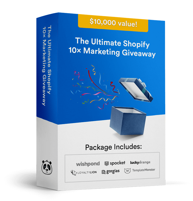 ultimate shopify marketing giveaway