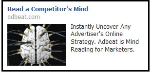 AdBeat.com Facebook ad