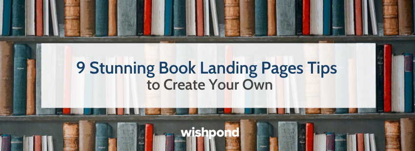 9 Stunning Book Landing Pages Tips to Create Your Own