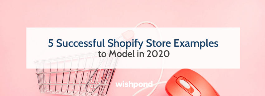 5 Successful Shopify Store Examples to Model in 2020