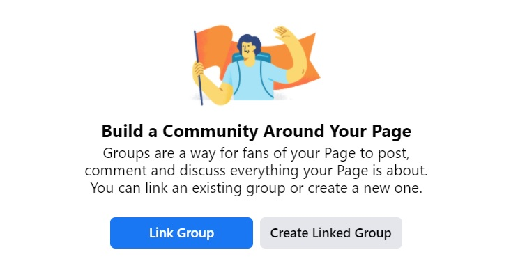How To Link a Group to Page
