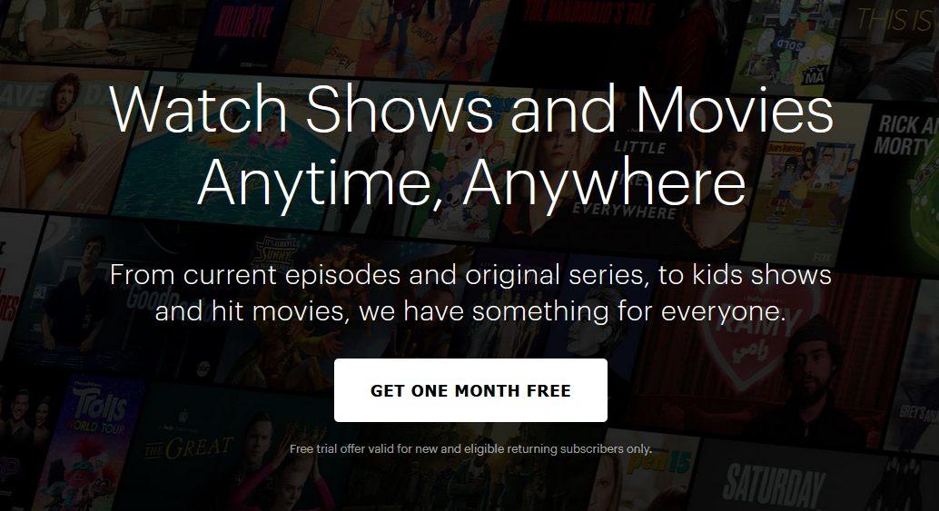 Hulu One Month Free