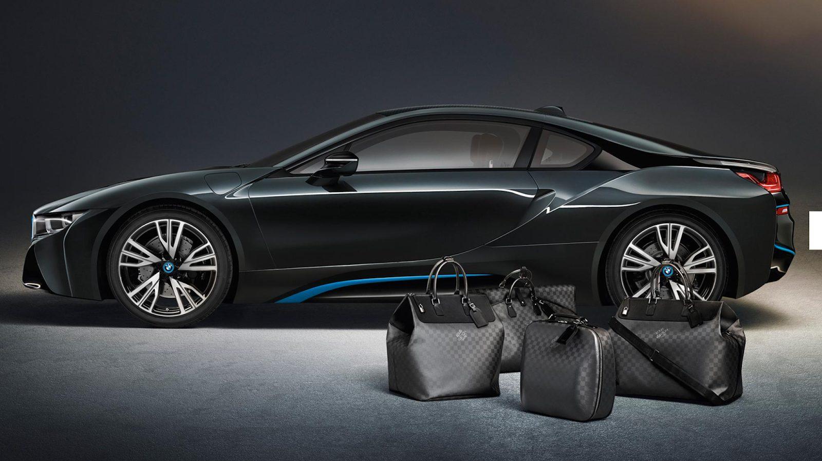 bmw x Louis Vuitton cobranding