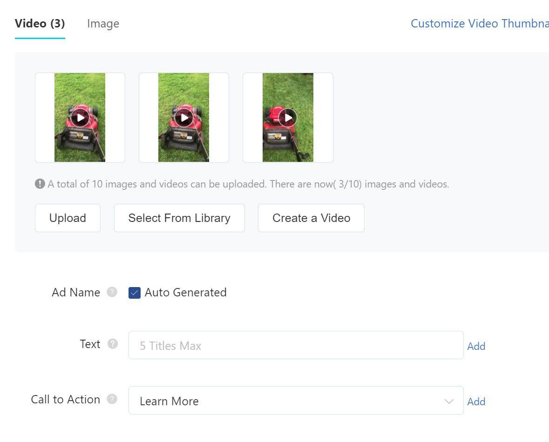 TikTok ad call to action