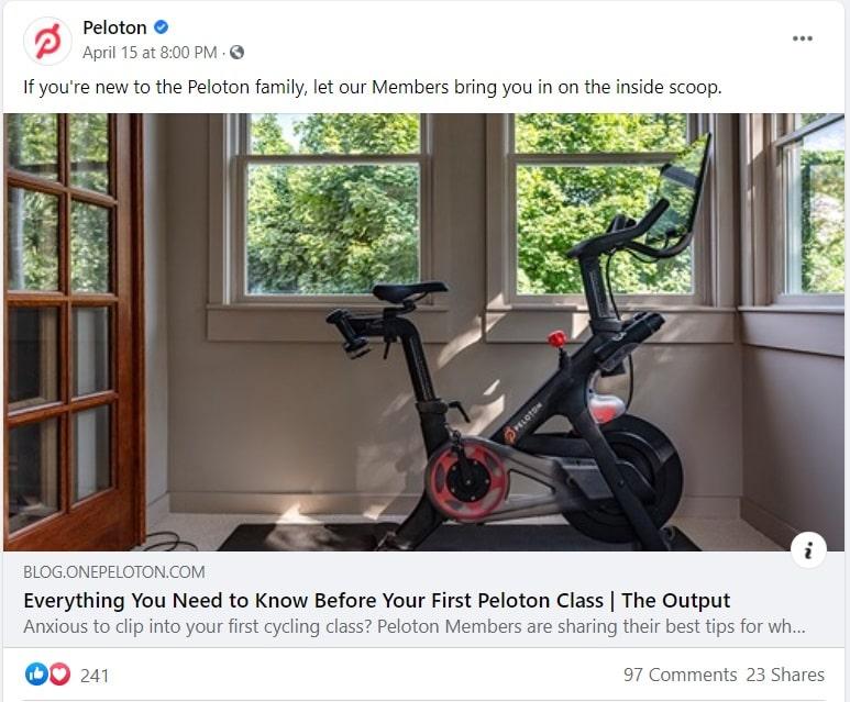 Peloton Product Image