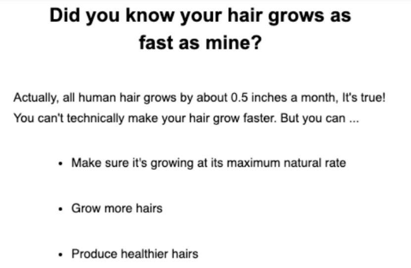 Beardbrand email marketing
