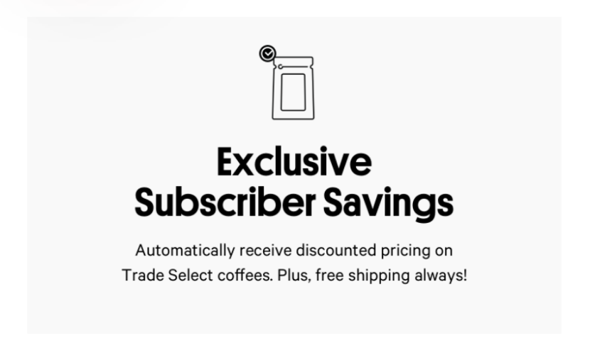 exclusive savings email