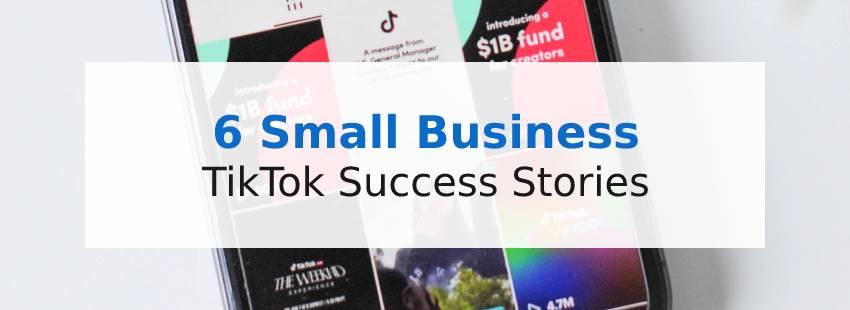 6 Small Business TikTok Success Stories