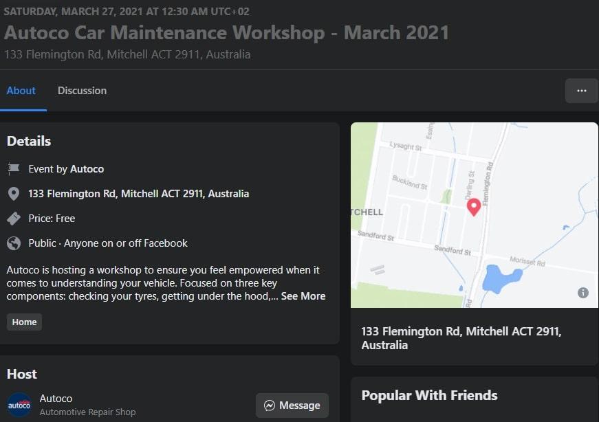 Autoco Car Maintance Workshop