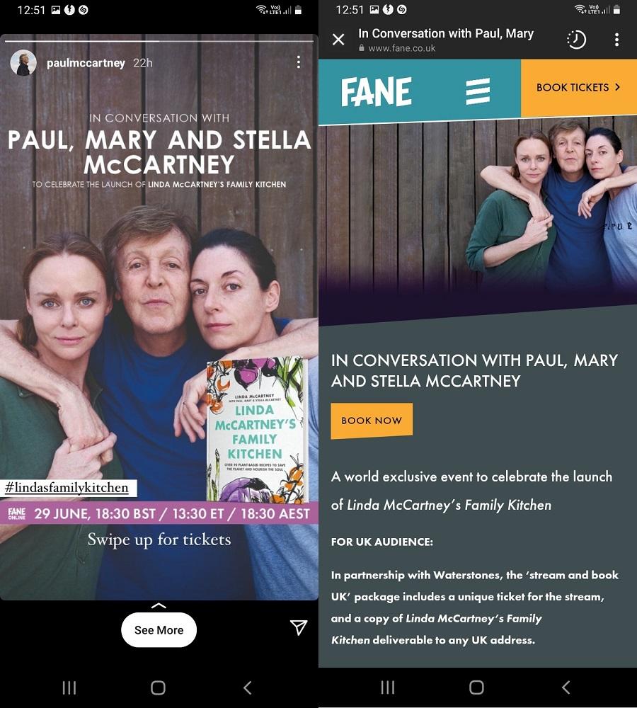 Paul McCartney Event
