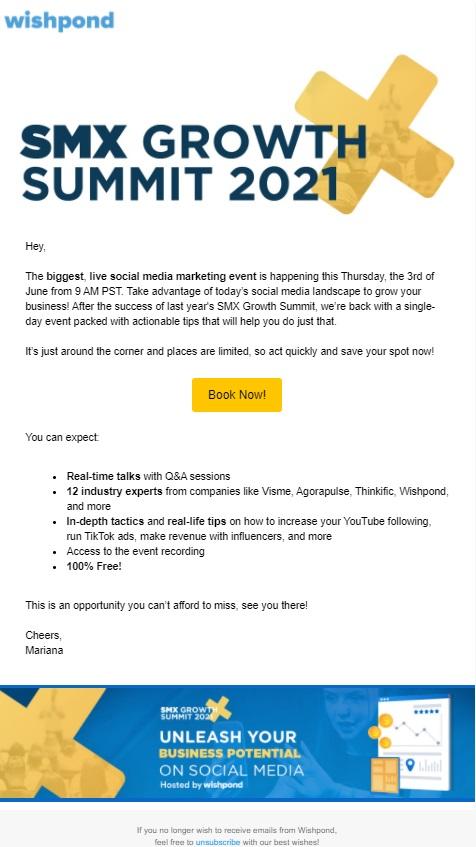 SMX Summit Event Invite