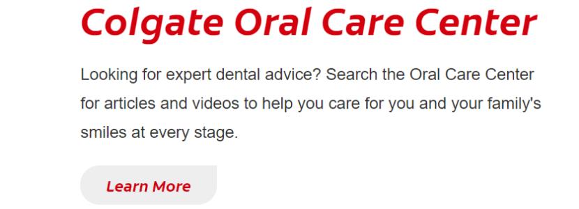 Colgate dental experts