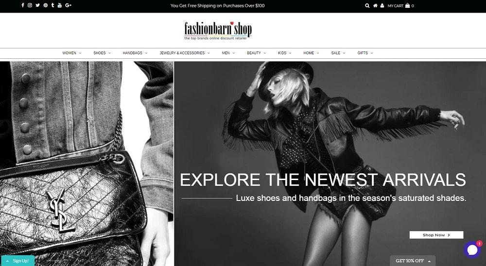 fashionbarn shop