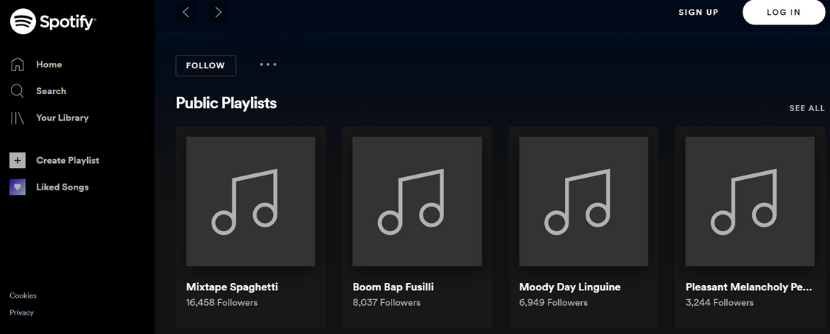 Barilla Spotify