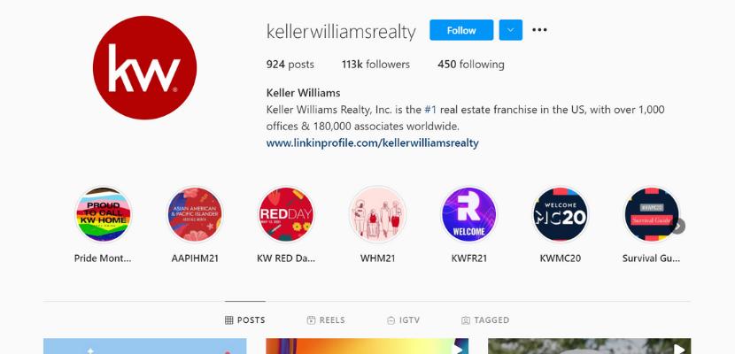 Keller Williams Instagram