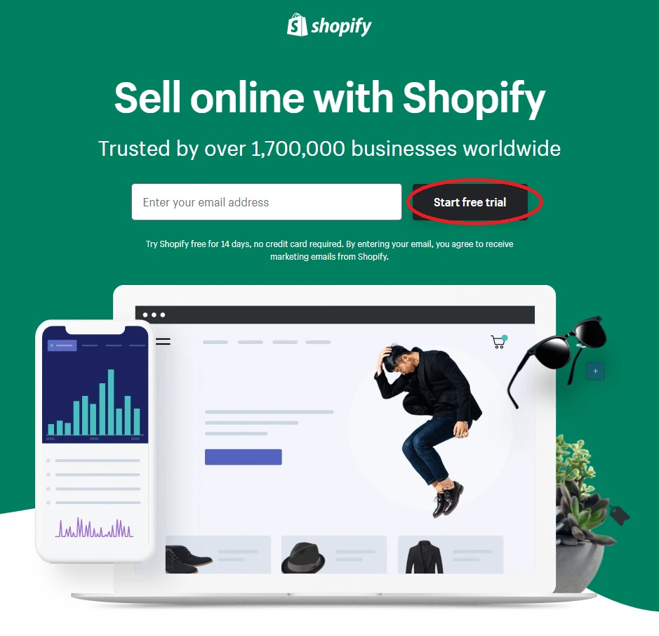 Landing Page Message