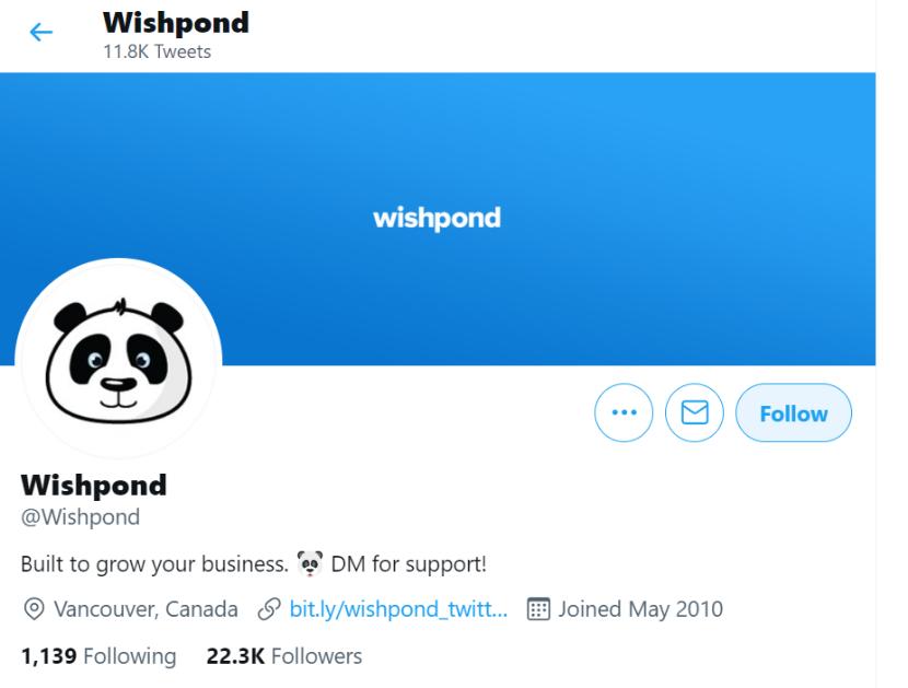 Wishpond Twitter