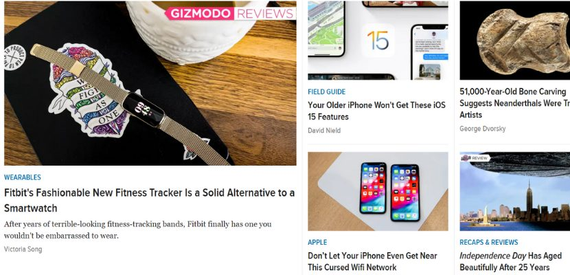 Gizmodo blog
