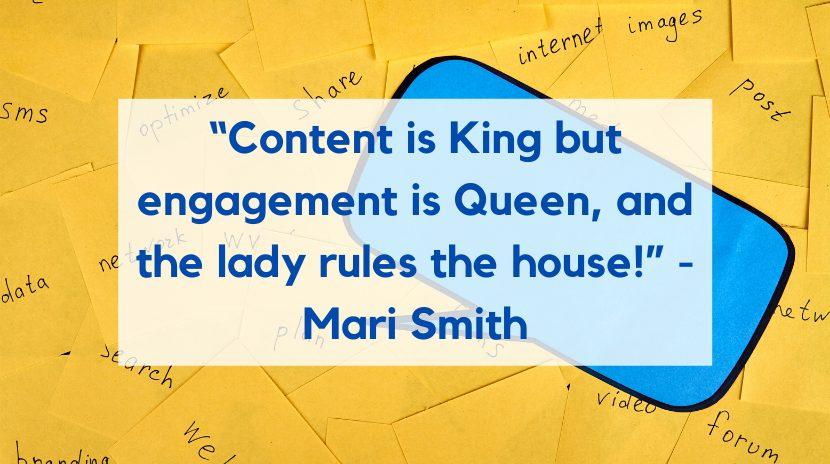 Mari Smith Marketing Quote
