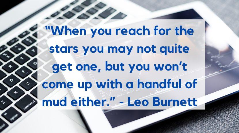 Leo Burnett marketing quote