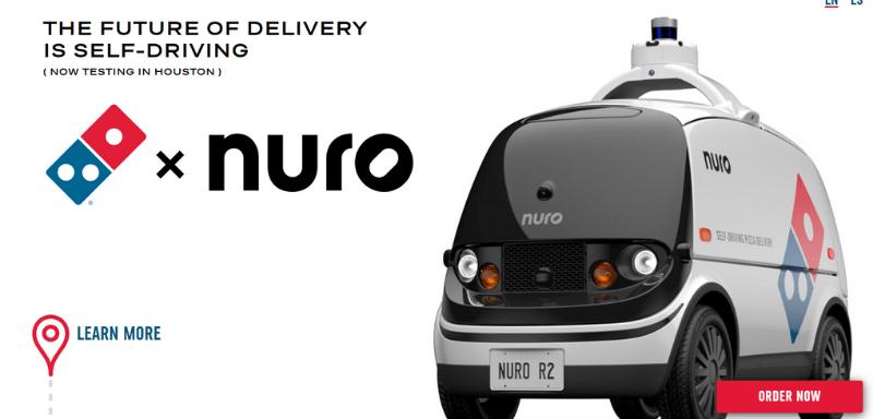 Nuro x Dominos
