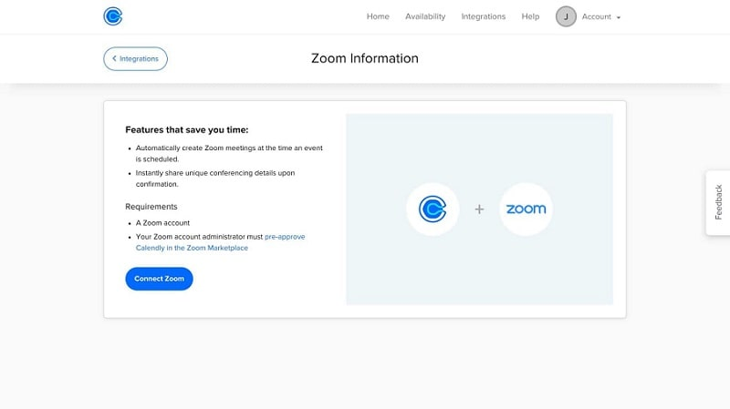 Calendly Zoom Integration