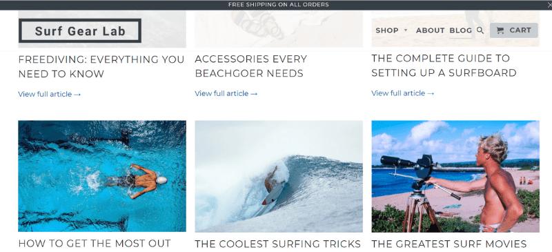 dropshipping blog
