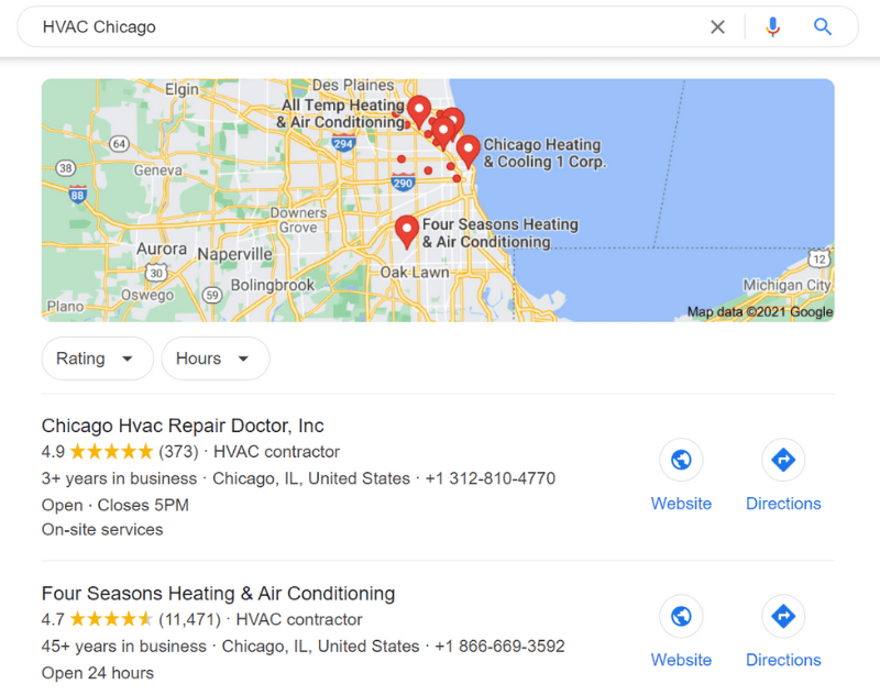 HVAC Google
