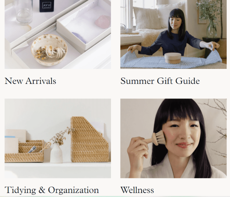 Marie Kondo online store