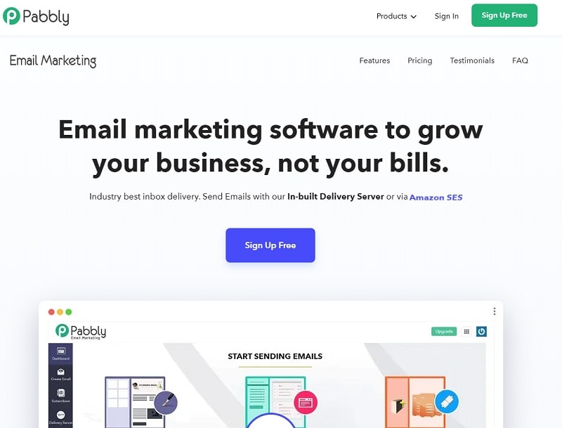 Pabbly Email Marketing