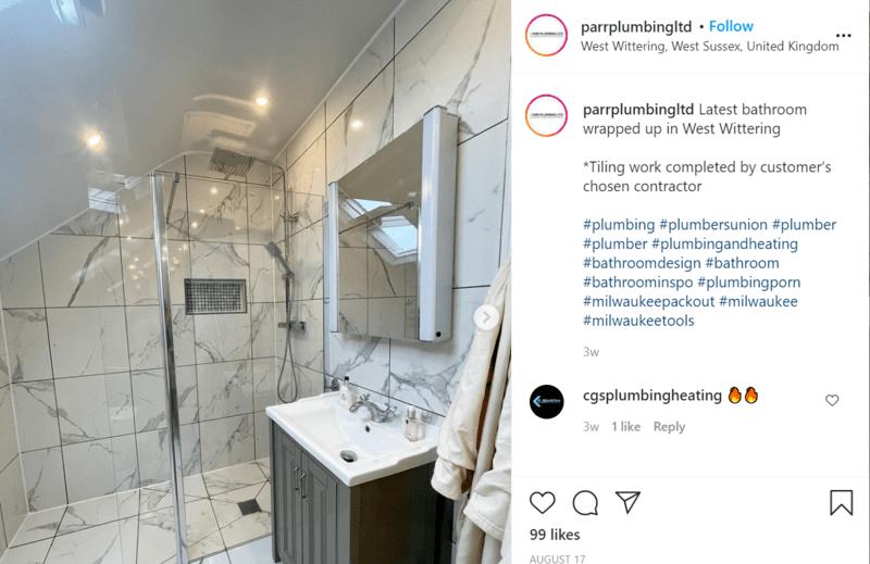 plumber Instagram