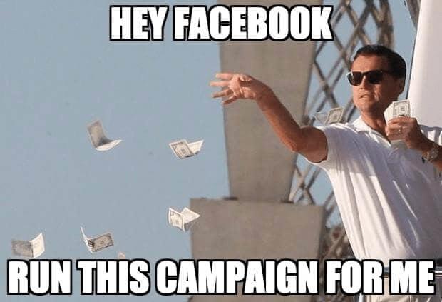 Facebook Ads meme