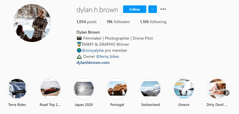 Instagram photographer